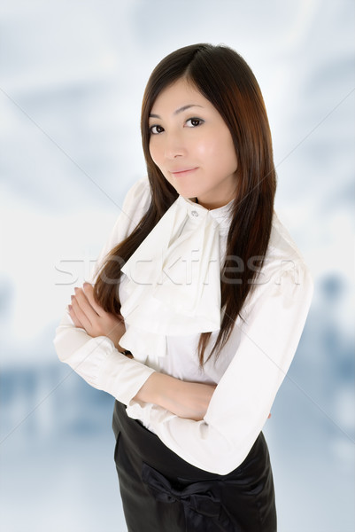 Successful business woman Stock photo © elwynn