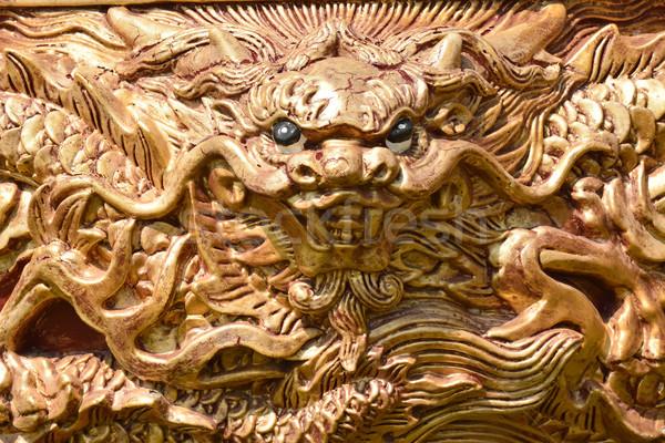 Dragon traditional decoration Stock photo © elwynn