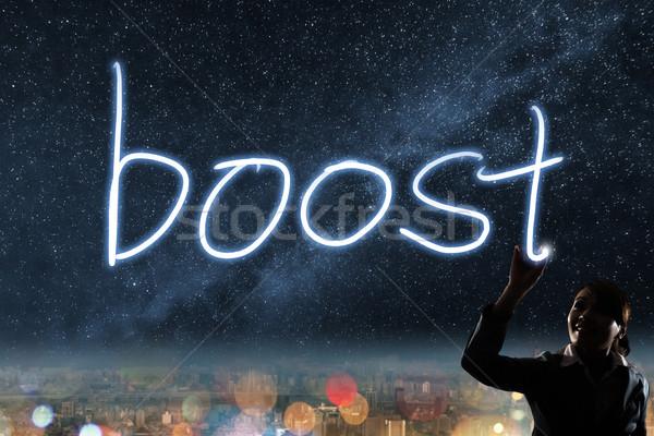 Concept of boost Stock photo © elwynn