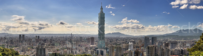 Taipei cityscape Stock photo © elwynn