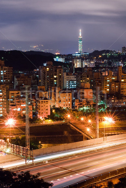 cityscape of Taipei Stock photo © elwynn