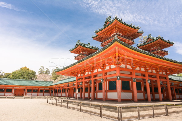 Heian Jingu Shrine  Stock photo © elwynn