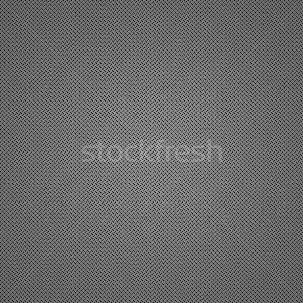 Stock photo: metal diamond plate