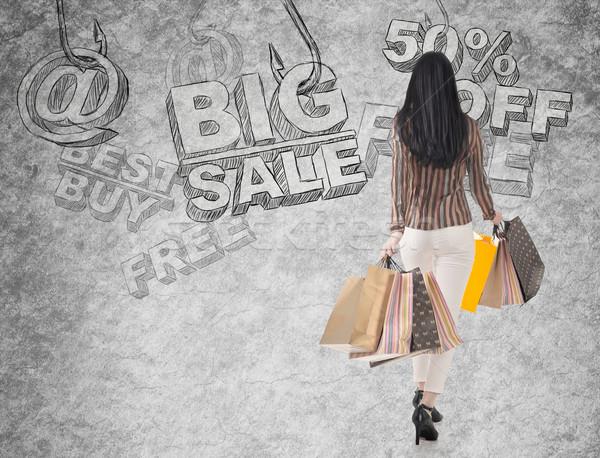 shopping risk Stock photo © elwynn