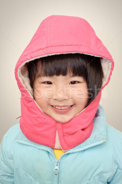 girl smiling Stock photo © elwynn