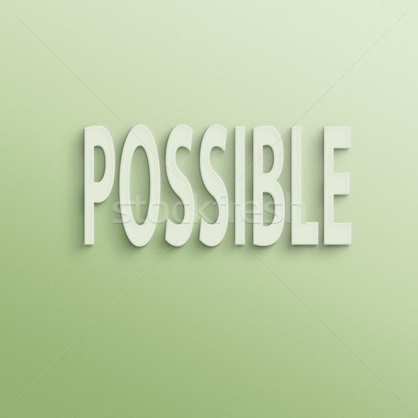 可能 文字 壁 紙 ビジネス 訓練 ストックフォト © elwynn