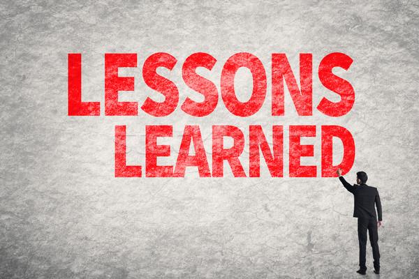 Lessons Learned Stock photo © elwynn