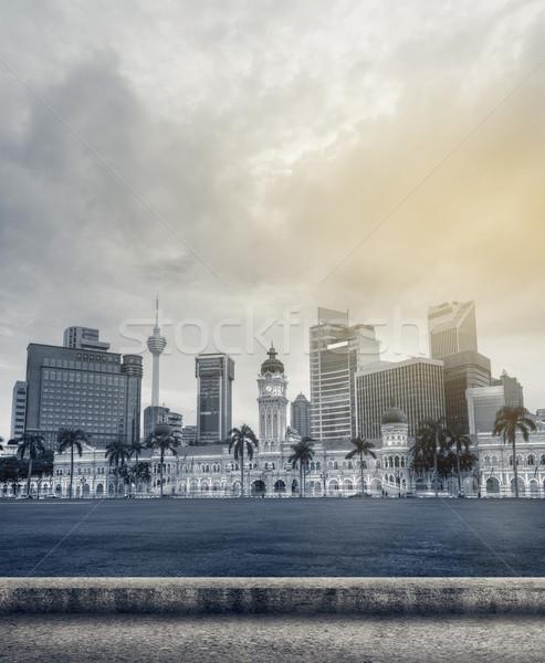 Malaysia city skyline Stock photo © elwynn