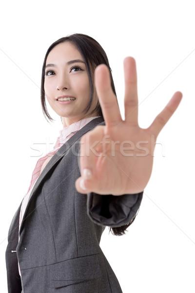 Ok gesture  Stock photo © elwynn