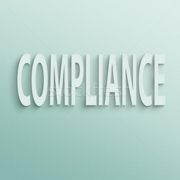 compliance Stock photo © elwynn