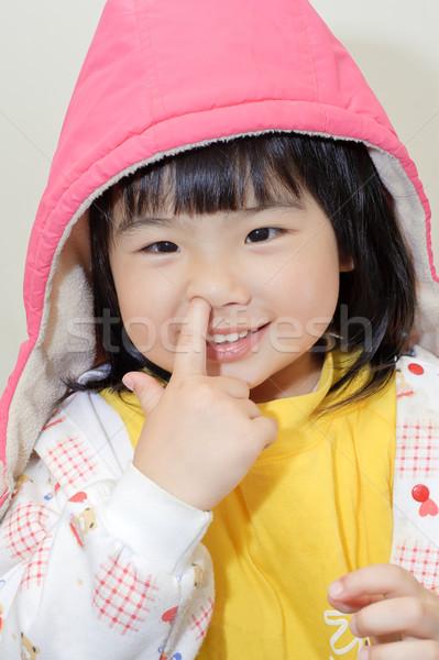 Adorable Asian girl Stock photo © elwynn