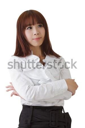 Сток-фото: успешный · азиатских · деловой · женщины · женщину · служба · лице