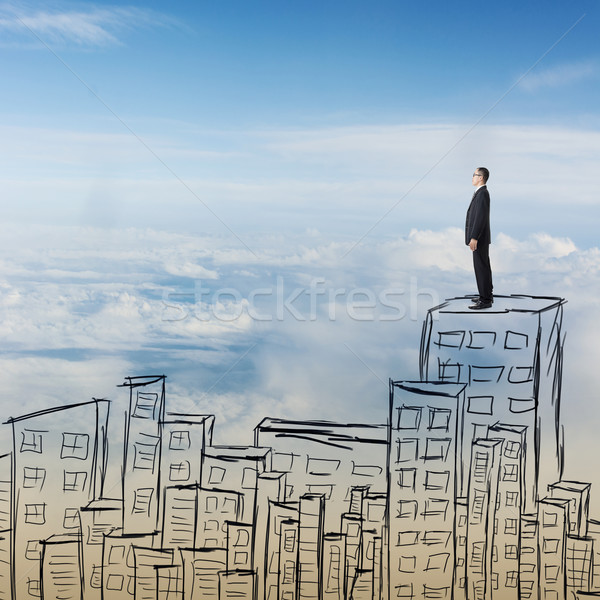 Successful Asian businessman Stock photo © elwynn