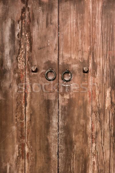 Old door Stock photo © elwynn