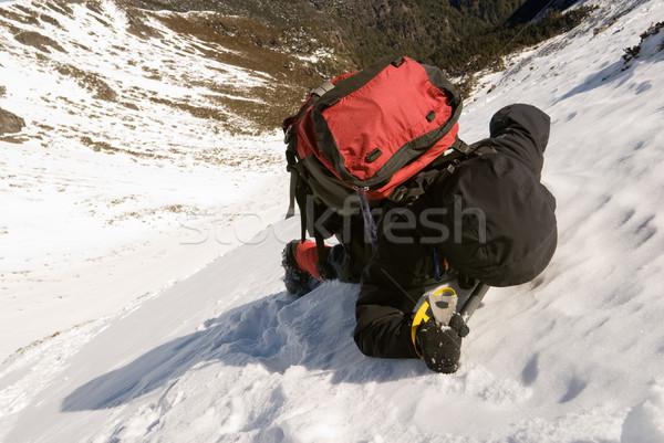 mountain climber Stock photo © elwynn