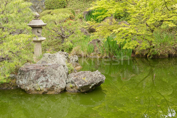 Scenery of Japanese garden  Stock photo © elwynn
