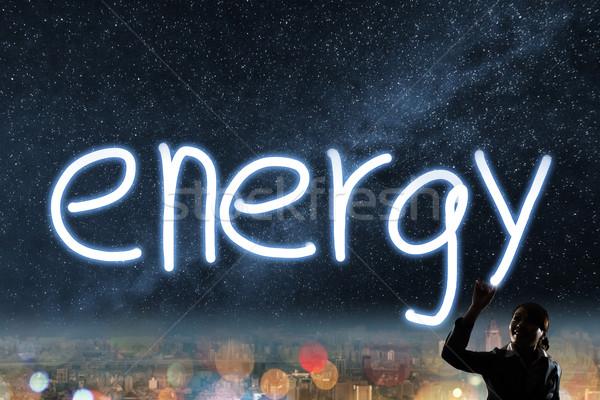Concept of energy Stock photo © elwynn