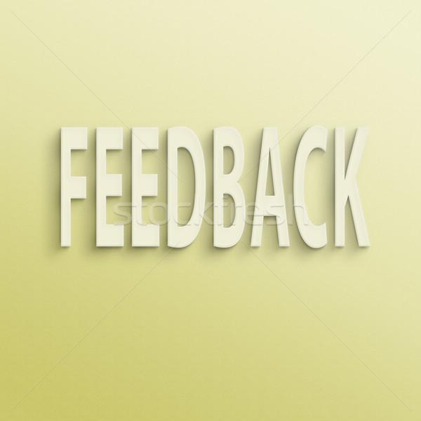 feedback  Stock photo © elwynn