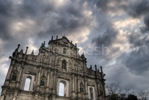 Ruins of St. Paul's Stock photo © elwynn