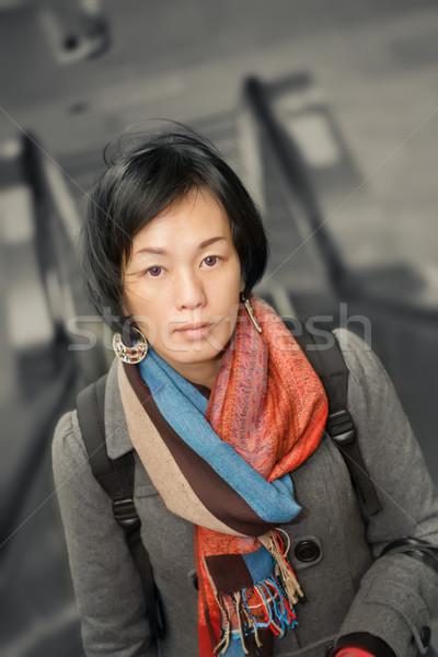 Mature Asian beauty Stock photo © elwynn
