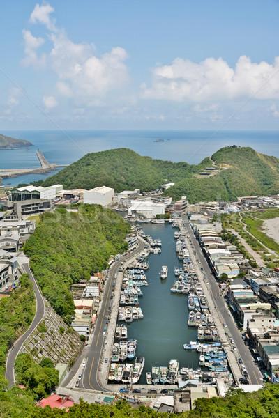 Suao port in Taiwan Stock photo © elwynn