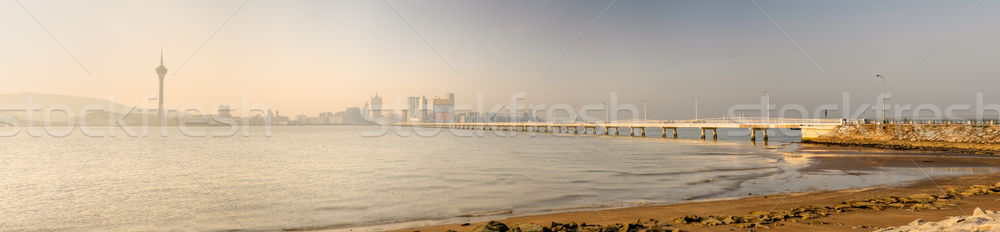 Panoramic cityscape in Macao Stock photo © elwynn