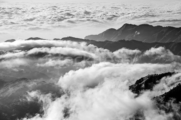 Dramatic mountain scenery Stock photo © elwynn