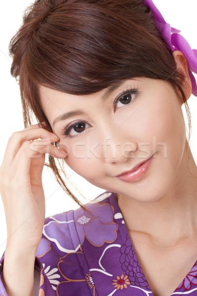 красоту портрет молодые азиатских женщину Сток-фото © elwynn