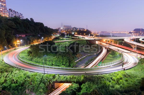 Highway interchange Stock photo © elwynn