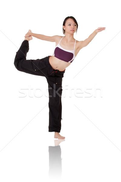 Stock photo: yoga
