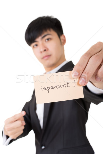 important business card Stock photo © elwynn