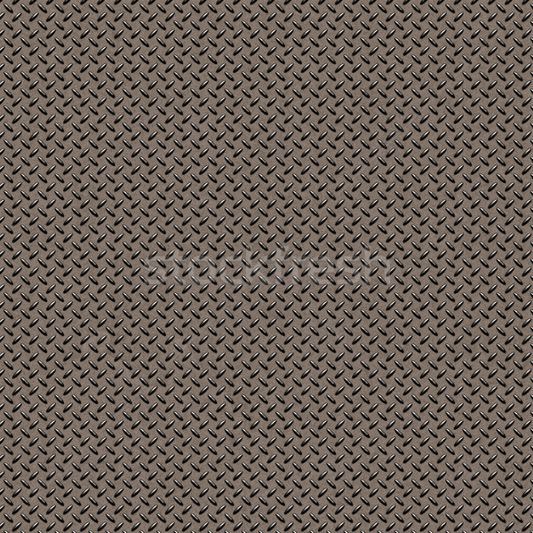 Stock photo: metal diamond plate