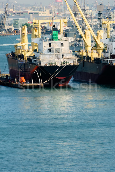 Industrial freighter Stock photo © elwynn