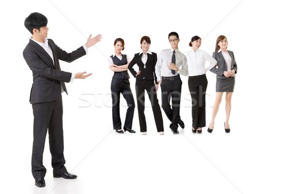Asian business team Stock photo © elwynn