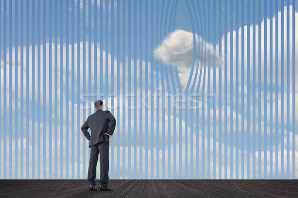 Concept of clouds Stock photo © elwynn