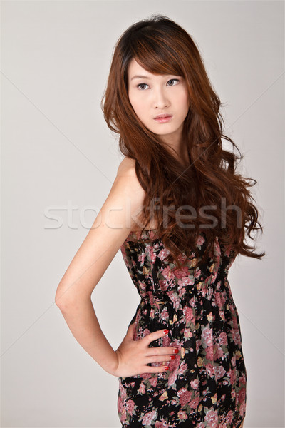 Attractive young beauty Stock photo © elwynn