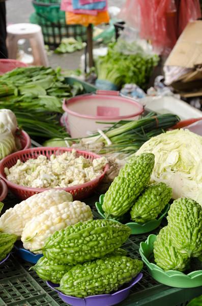 горький продовольствие природы фрукты здоровья зеленый Сток-фото © elwynn