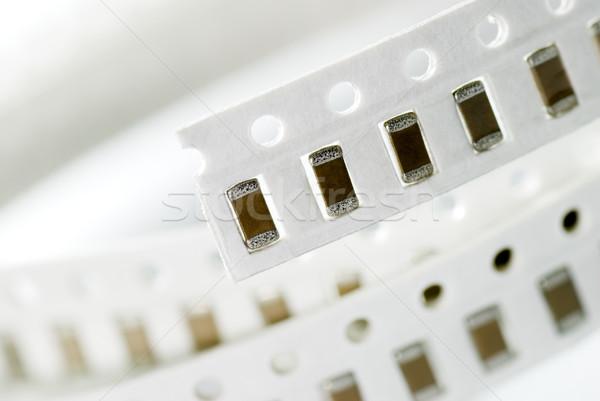 Resistor chip in SMD style Stock photo © elwynn