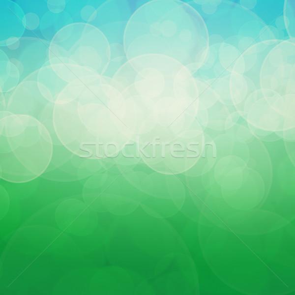 Abstrato cor foco luz estrelas Foto stock © elwynn