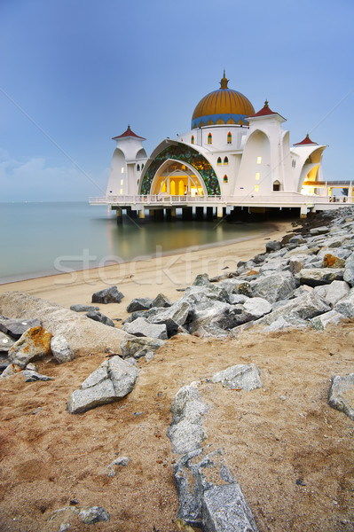 Mosque on water Stock photo © elwynn