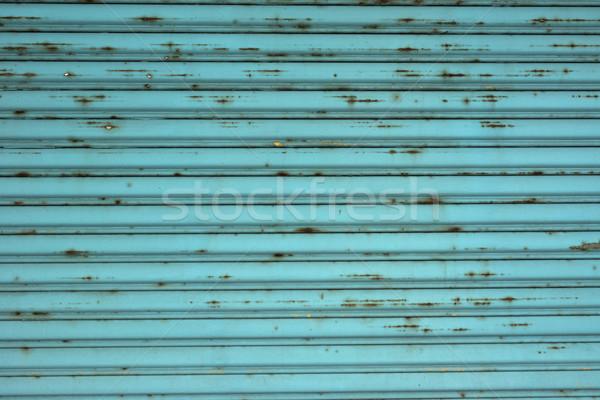 металл стены бирюзовый стиль текстуры Сток-фото © elwynn