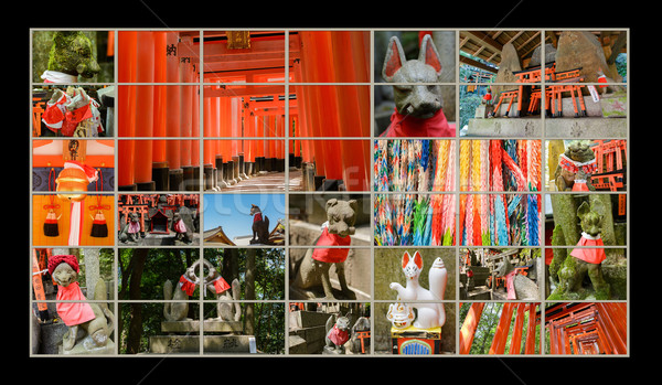 Fushimi Inari Taisha Shrine Stock photo © elwynn