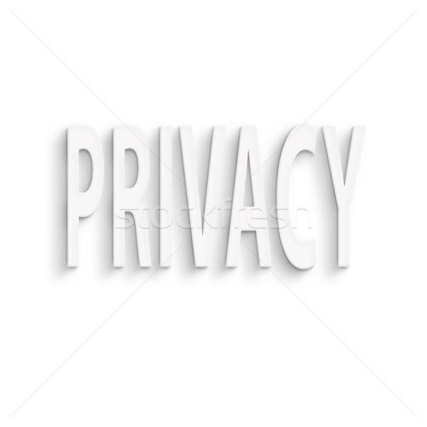 privacy  Stock photo © elwynn