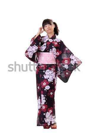 Young japanese girl Stock photo © elwynn
