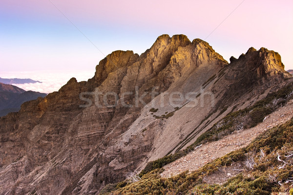 Stock photo: Mountain scenery