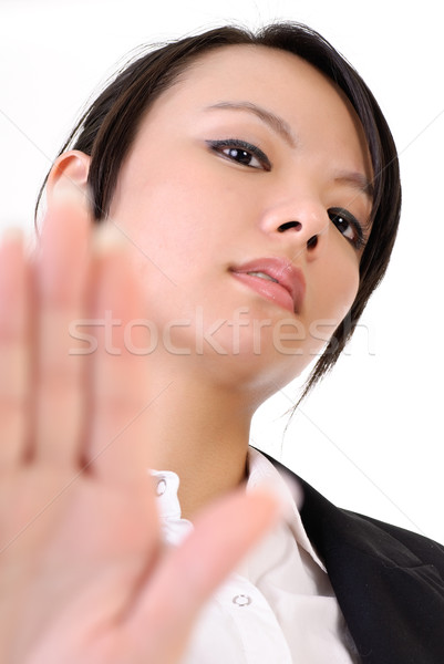 Cool business woman Stock photo © elwynn