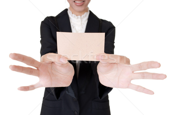 business card Stock photo © elwynn