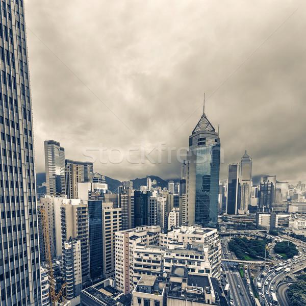 Cityscape of Hong Kong Stock photo © elwynn