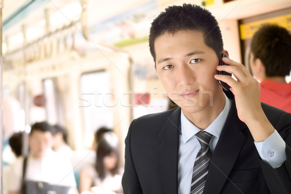 young businessman Stock photo © elwynn