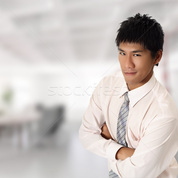 Handsome Asian businessman Stock photo © elwynn